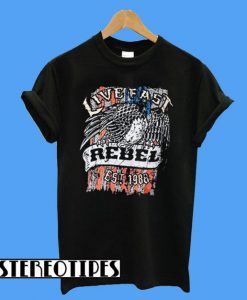 Live East Rebel Est 1988 T-Shirt