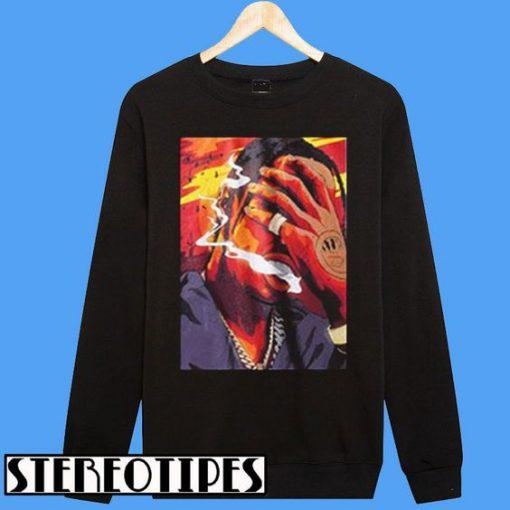 A$AP Smoking Sweatshirt