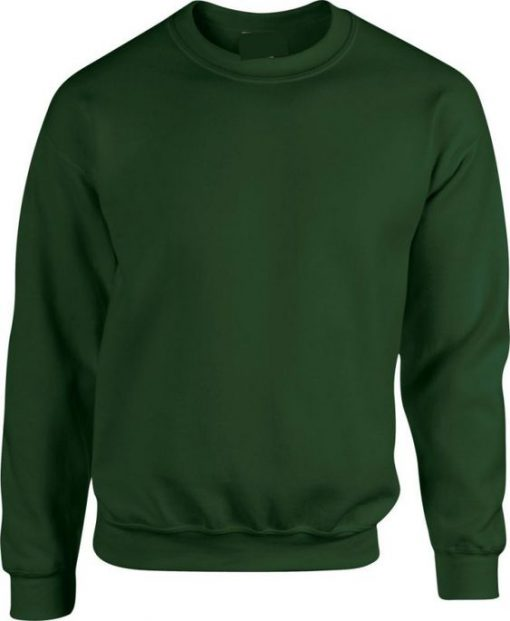 Blank Green Sweatshirt