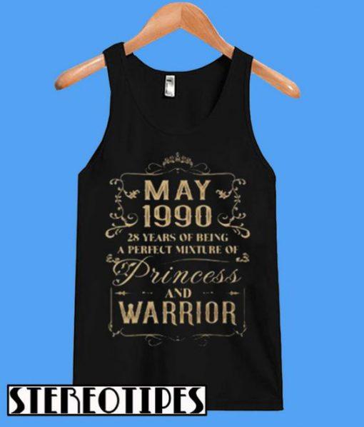 May 1990 Princess and Warrior TankTop