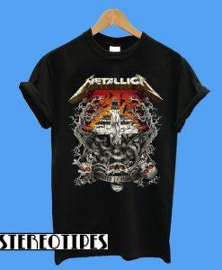 Metallica Camiseta R&sh Avenged Logo T-Shirt