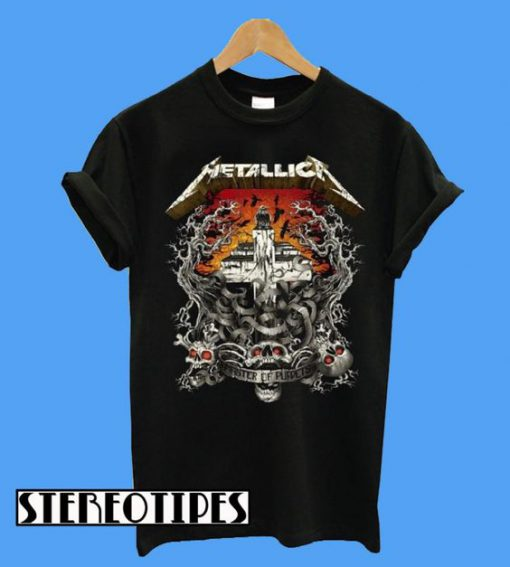Metallica Camiseta R&sh Avenged Logo T-Shirt
