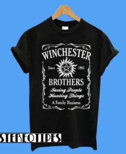 Winchester Since 1983 Brothers T-Shirt