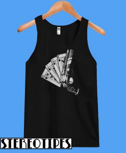 Cards Vegas Casino 10JQKA Guns Tanktop