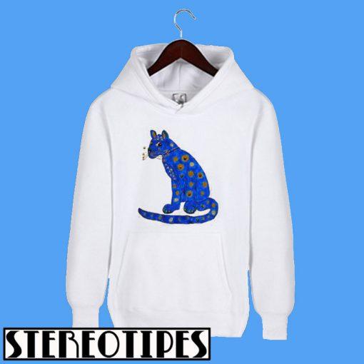 Abba Blue Cat Hoodie