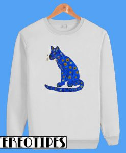 Abba Blue Cat Sweatshirt