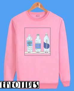 Water Bottles Sweatshirt