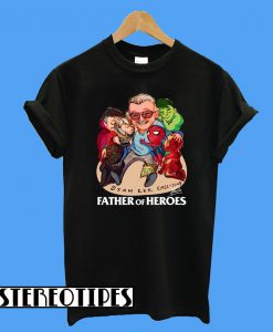 A Father Of Heroes T-Shirt