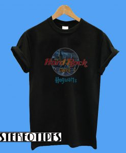 Harry Potter Hard Rock cafe Hogwarts T-Shirt