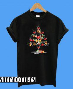 Mery Christmas Wine T-Shirt