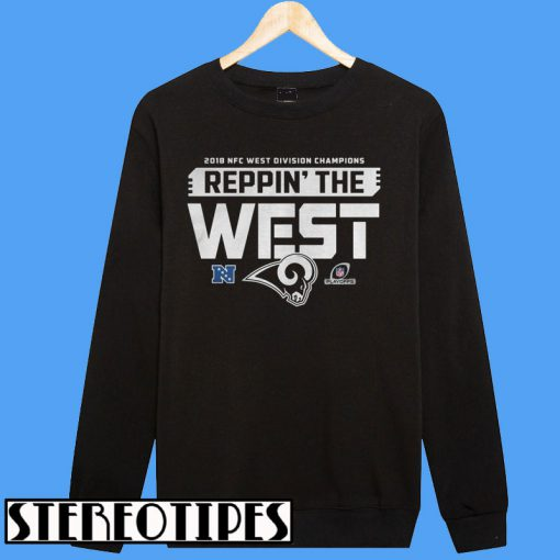 2018 Nfc West Division Champions Reppin' The West Sweatshirt