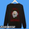 Christmas Karl Marx merry Christmarx Sweatshirt