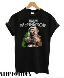 Conor McGregor The Notorious – Team McGregor T shirt