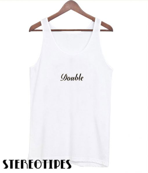 Double T ank top