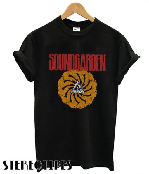 Soundgarden Bad Motor Finger Licensed Grunge Rock T shirt