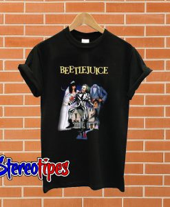 Beetlejuice Black T shirt