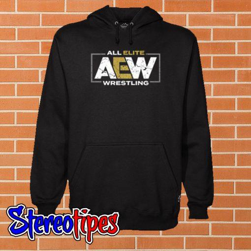 AEW Logo – All Elite Wrestling Hoodie