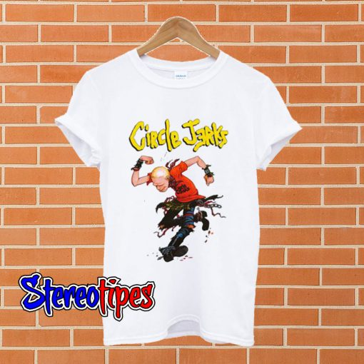 Circle Jerks Punk Rock Band T shirt