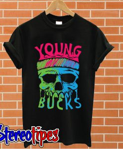 Young Bucks Skull T shirt