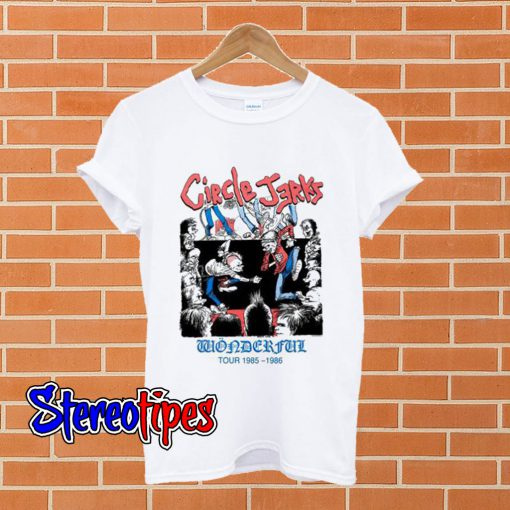 Circle Jerks T shirt