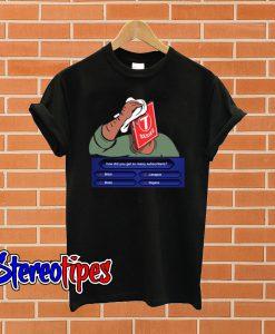 Pewdiepie VS T Series Black T shirt