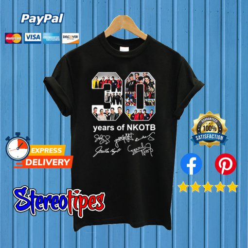 30 Years New Kids on The Block T shirt