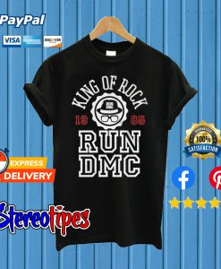 King Of Rock Run Dmc T shirt