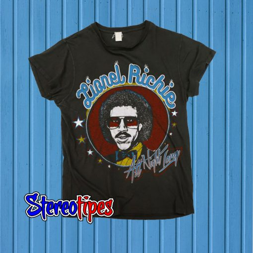 Lionel Richie All Night Long T shirt
