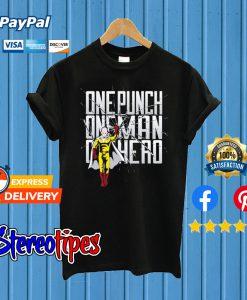 One Hero – One Punch Man T shirt