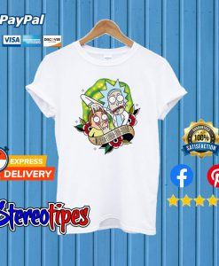 Rick and Morty Wubba Lubba Dub Dubb T shirt