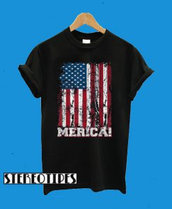 4th Of July Independence Day American Flag Patriotics T-Shirt