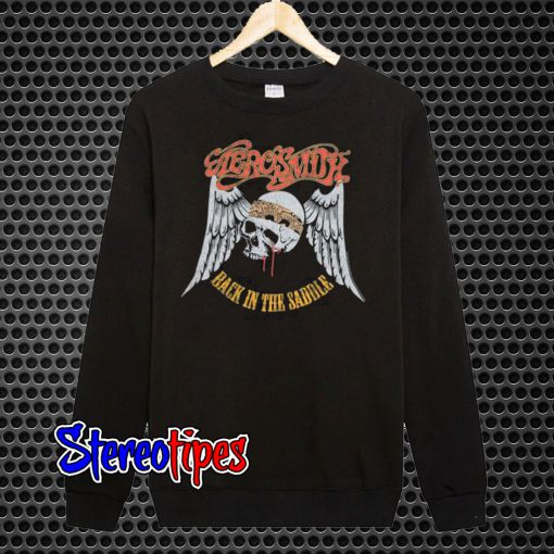 Aerosmith Back In The Saddle Sweatshirt
