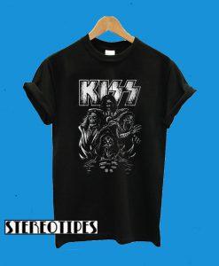 Kiss Band Art T-Shirt