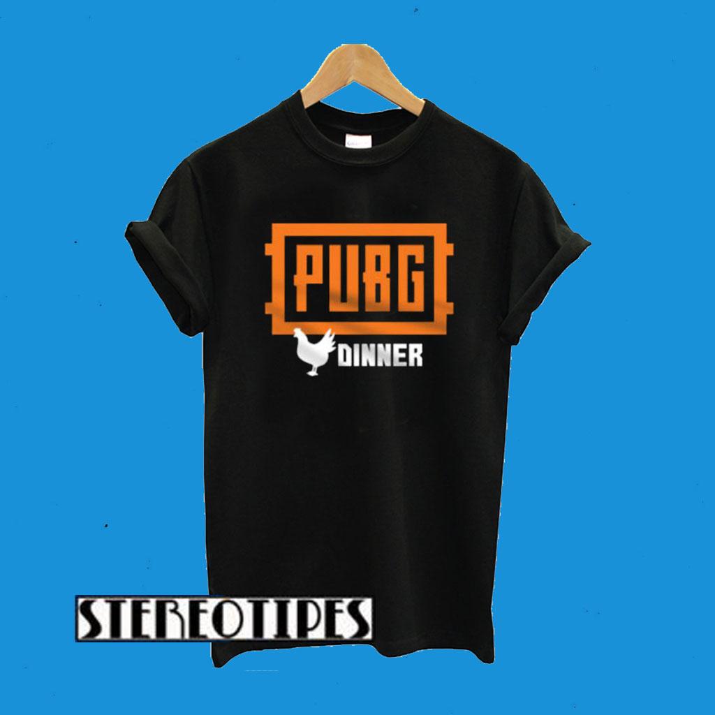 PlayerUnknown's Battlegrounds Winner Chicken Dinner T-Shirt