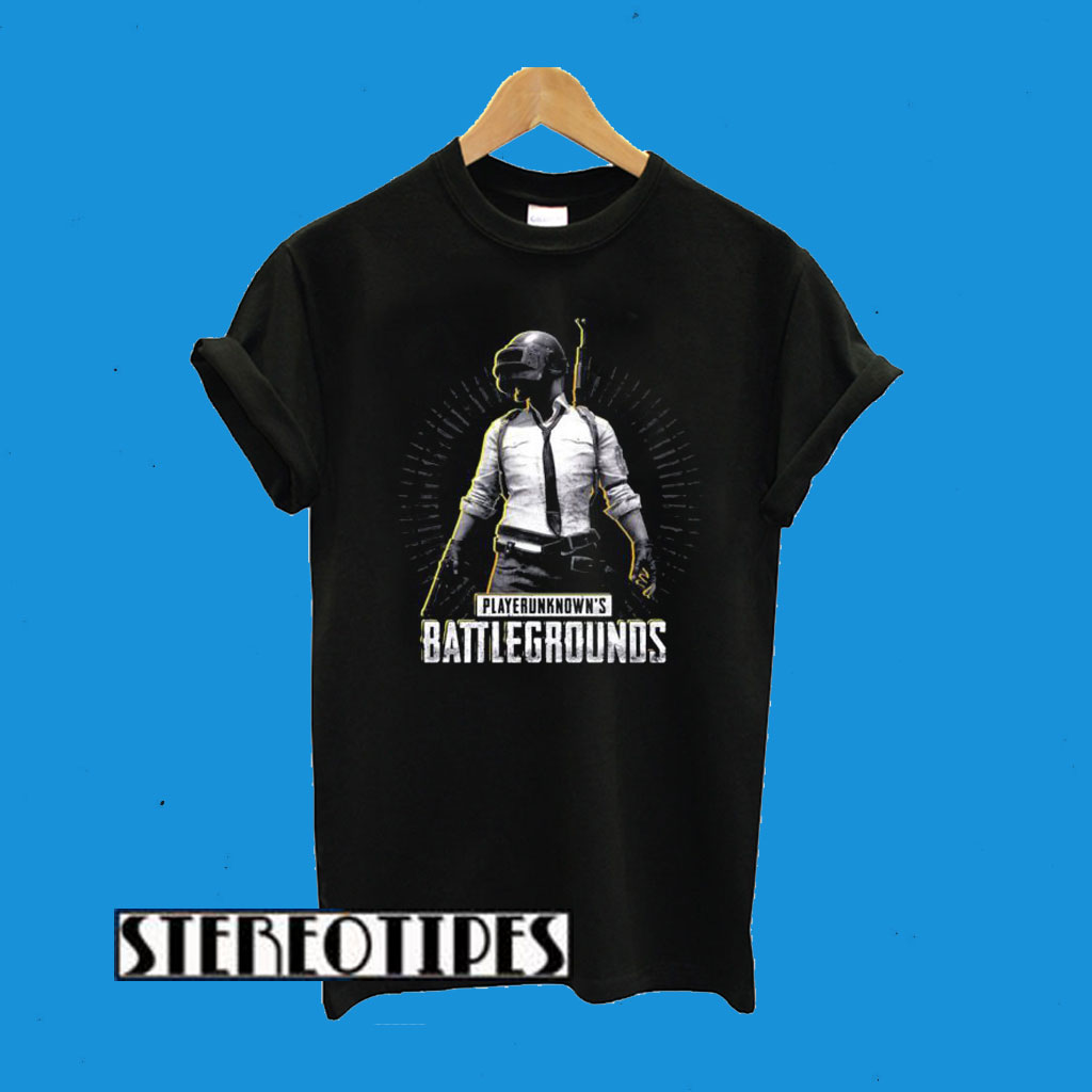 Playerunknown's Battlegrounds Black T-Shirt