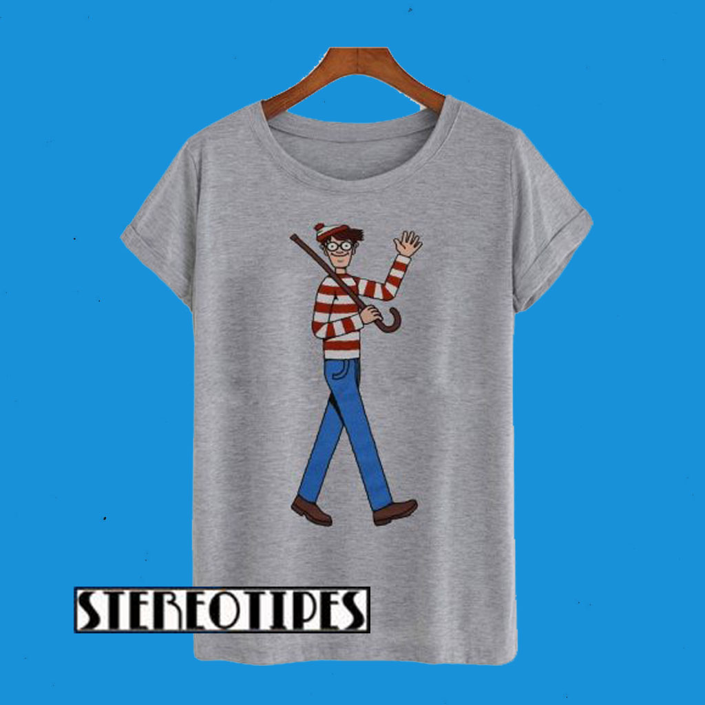 WeLoveFine Where's Waldo T-Shirt