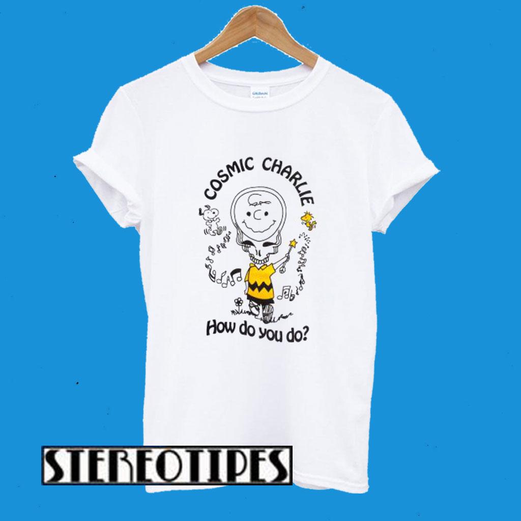 Cosmic Charlie Grateful Dead T-Shirt