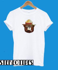 Burton Tops On Hold Smokey The Bear T-Shirt