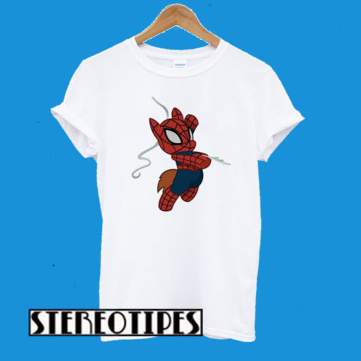 Snoby Girl Baby Spider Man T-Shirt