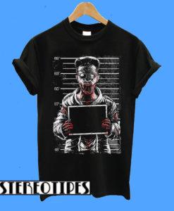 Zombie Mugshot T-Shirt